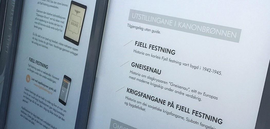 Fjell festning // profilering