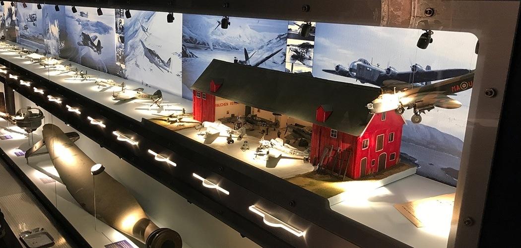 Herdla museum // utstilling