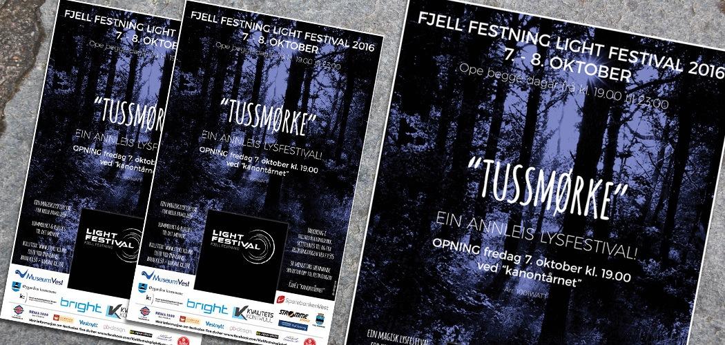 Fjell Festning Light Festival