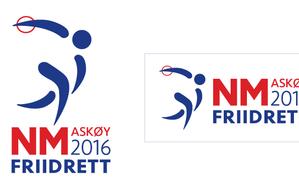 Design av logo til NM i friidrett!