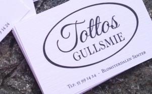 Tottos Gullsmie // profilering