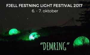Fjell festning Light festival // profilering